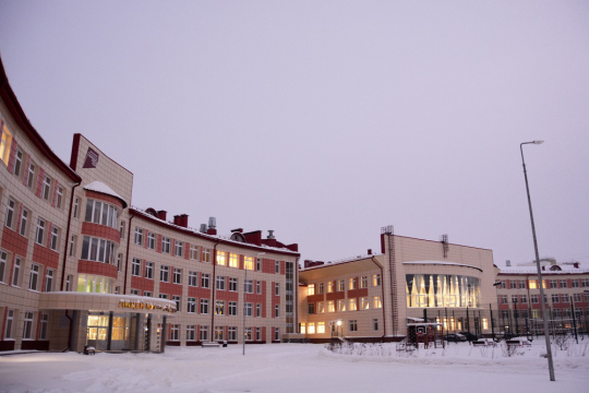 В Нижневартовске при поддержке «Роснефти» построена школа на 1725 мест