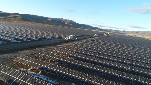 Самую крупную солнечную электростанцию Бурятии готовят к пуску