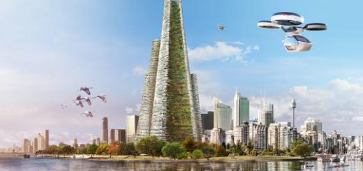 В Дубае построят «зеленый» вертикальный город на энергии солнца и ветра