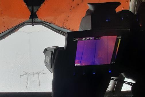 «Россети ФСК ЕЭС» диагностирует ЛЭП с помощью вертолета и тепловизора