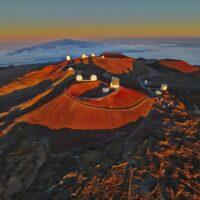 На Гавайях устанавливают солнечные панели на вершине спящего вулкана