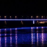 Ростех оснастил светодиодными светильниками набережную в Калуге
