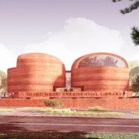 В ЮАР построят из земли восьмикупольную библиотеку на солнечных панелях