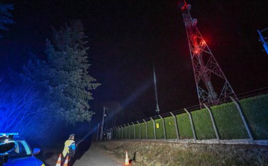 Во Франции остались без связи 1,5 млн человек из-за поджога вышки противниками 5G