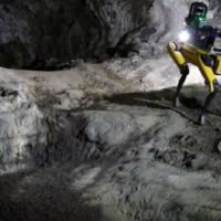 Робособака Au-Spot с ИИ поможет исследовать марсианские пещеры