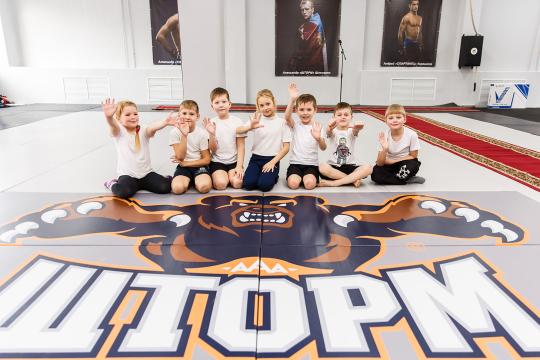 Школа единоборств Александра Шлеменко и «Газпром нефть» создали профессиональную команду «Шторм»