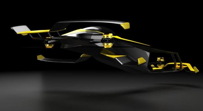 Во Франции создадут летающее гоночное авто на водороде
