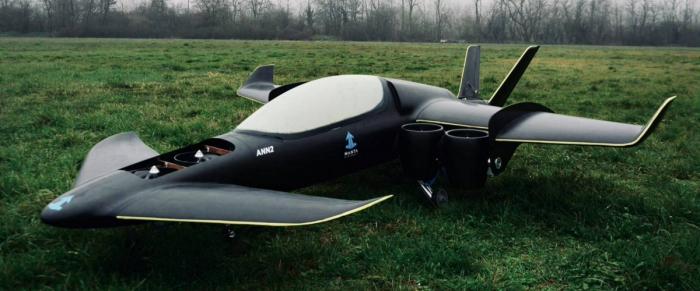 В Швейцарии испытают компактный прототип самолета-трансформера на электротяге