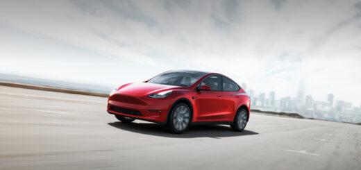 В США компактный кроссовер Tesla Model Y получил наивысший пятизвездочный рейтинг безопасности