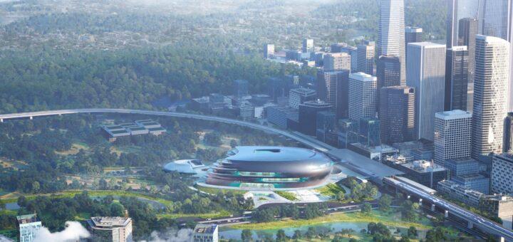 В Китае строят Музей науки и технологий с максимальным использованием естественного освещения и вентиляции