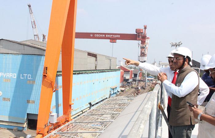 В Индии создадут флот из 23 электрических лодок для работы на внутренних маршрутах
