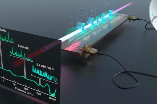 Новый квантовый датчик поддерживает AM, FM, Bluetooth, Wi-Fi и другие сигналы