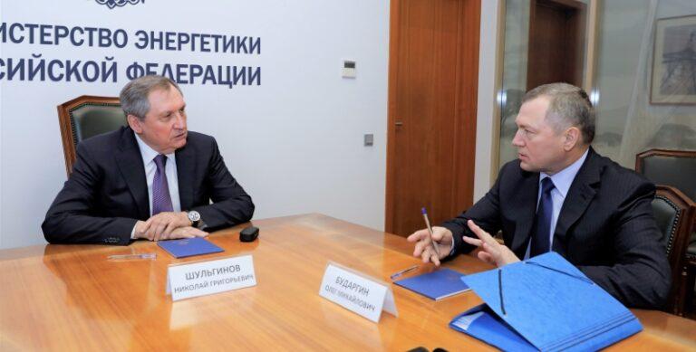 Николай Шульгинов провел рабочую встречу с вице-президентом МИРЭС Олегом Бударгиным