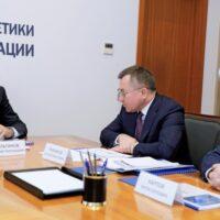 Николай Шульгинов встретился с главой СПбМТСБ Алексеем Рыбниковым