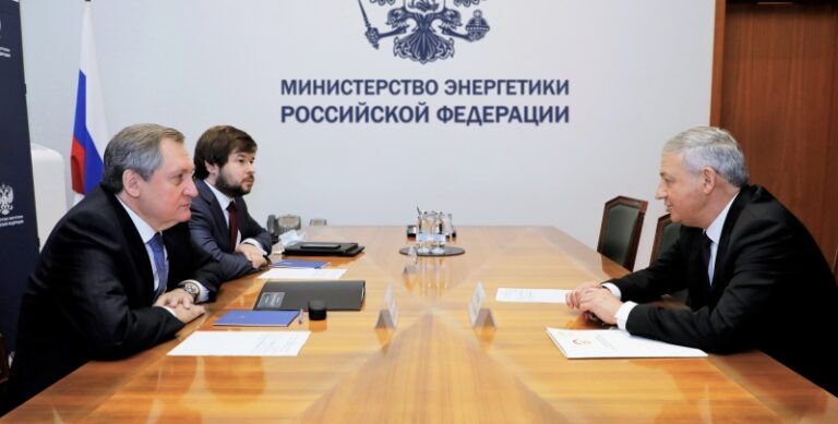 Николай Шульгинов провёл рабочую встречу с главой Республики Северная Осетия-Алания Вячеславом Битаровым