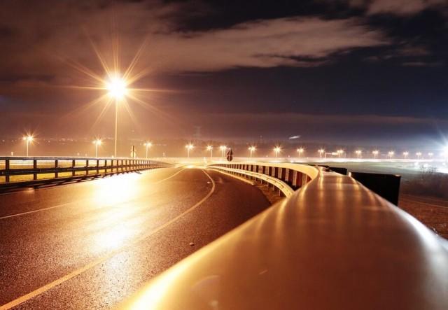 На трассе «Сызрань-Саратов-Волгоград» зажглись новые фонари