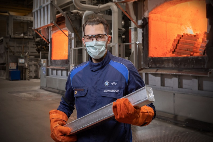Немецкий автомобильный концерн BMW будет покупать алюминий, произведенный с помощью ВИЭ