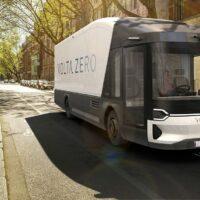 Биоразлагаемые грузовики Volta Zero укомплектуют аккумуляторными батареями