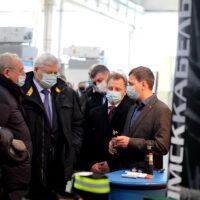 «Томсккабель» вместе с Томскими компаниями продемонстрировал новую продукцию для ПАО «Газпром»