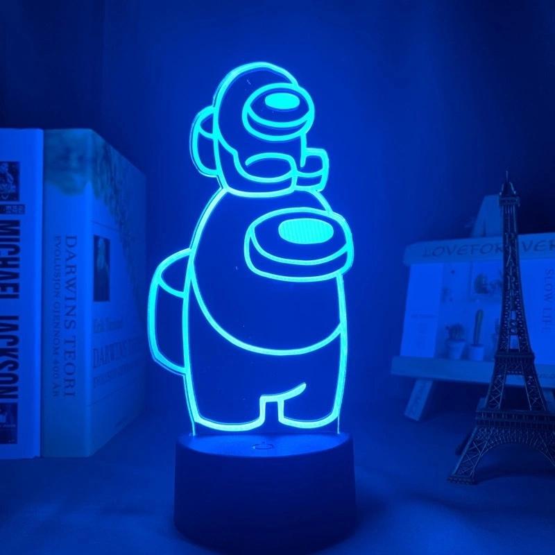3D светодиодный светильник: ночсветильник игра среди нас (Among us) X-buy — 1 399 ₽