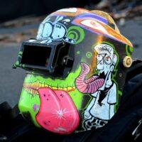 Необычные модели сварочных шлемов