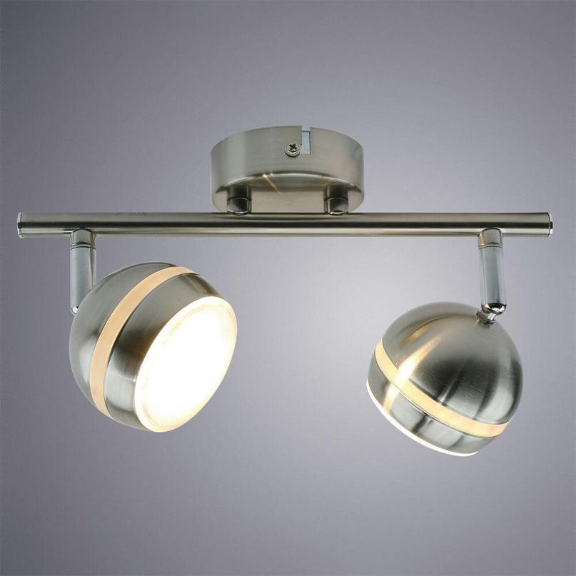 Поворотный спот: Arte Lamp Venerd A6009PL-2SS — 1 580 ₽