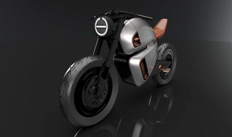 NAWA Technologies представила концепт первого электробайка с гибридной батареей