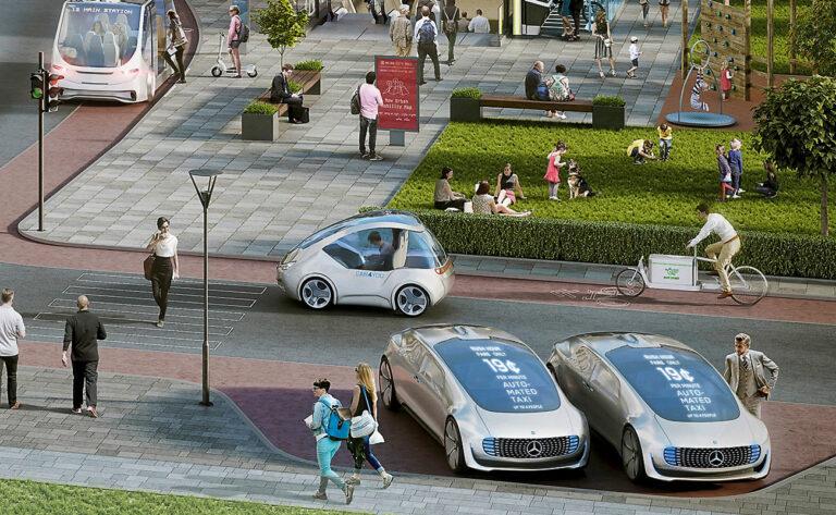 Германия планирует в 2022 году выпустить робомобили на дороги общего пользования