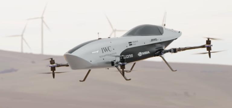 Создан летающий гоночный электромобиль для соревнований в стиле «Формулы-1»