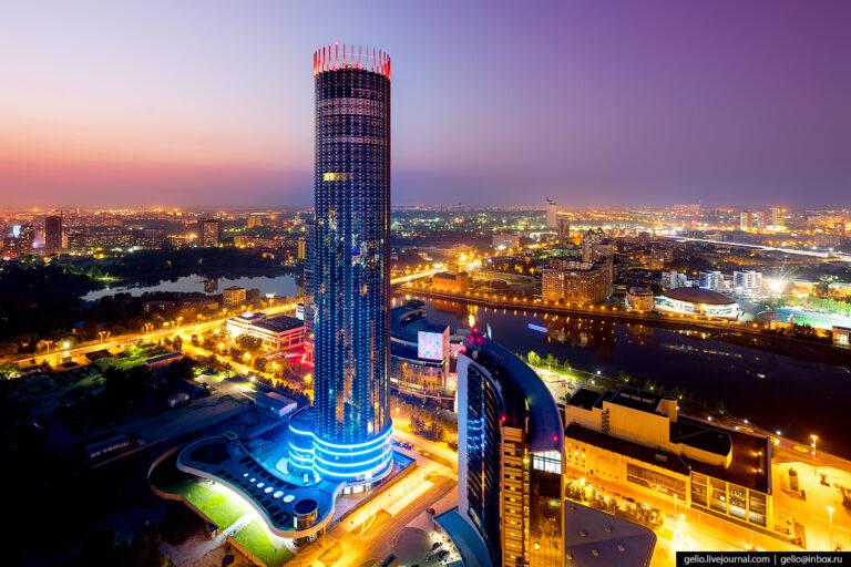 Преимущества квартир в центре Екатеринбурга
