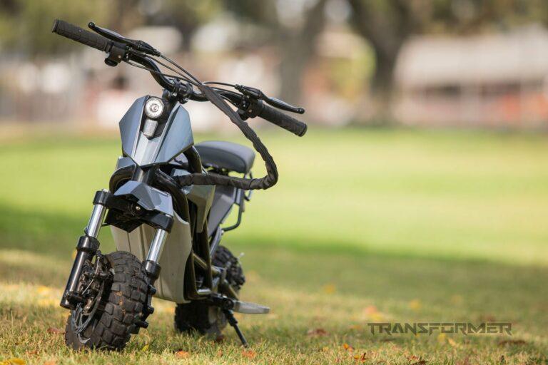 Компания Splach разработала электрический скутер для бездорожья - Transformer
