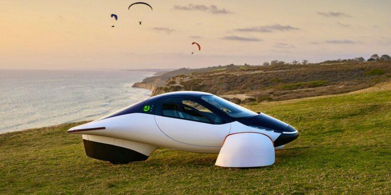 Представлен футуристичный электрический трицикл Never Charge с запасом хода до 1,6 тыс. км