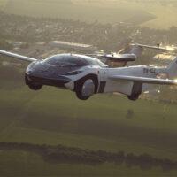 Летающие машины будущего: Klein Vision AirCar совершил первый междугородний рейс