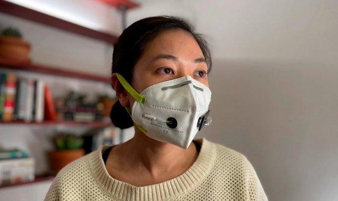 Ученые создали маску с датчиком обнаружения коронавируса