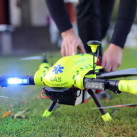 В Швеции протестировали дрона с дефибриллятором