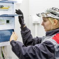 Россиянка Елена Жучкина победила в Евразийском чемпионате WorldSkills по электромонтажу