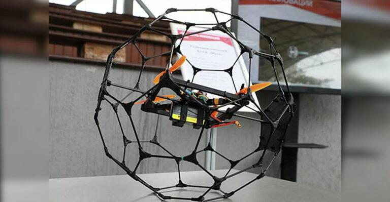 """Для разведки в помещениях, разработан дрон """"Муха"""""""
