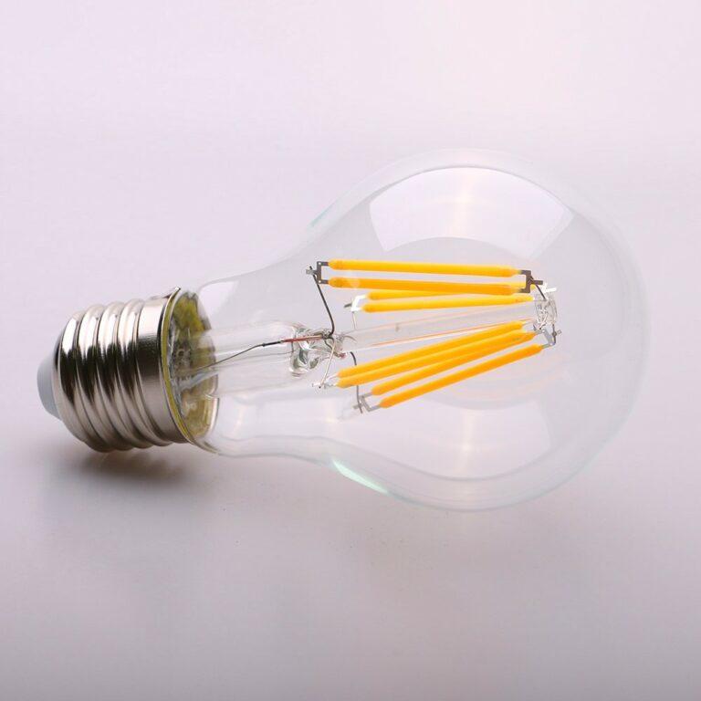 Филаментная LED лампа: ее устройство, достоинства и недостатки