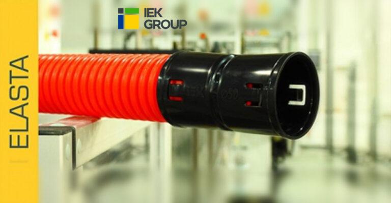 Новинки в ассортименте труб гофрированных двустенных ПНД ELASTA IEK® – диаметр 200 мм