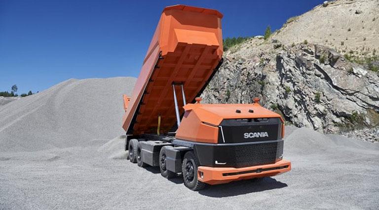 Scania в поисках новых форм беспилотных грузовиков