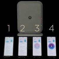 Беспроводная зарядка Motorola зарядит 4 смартфона на расстоянии до 3х метров
