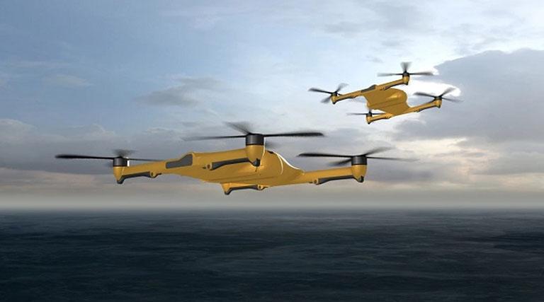 BAE Systems построит грузовой квадрокоптер