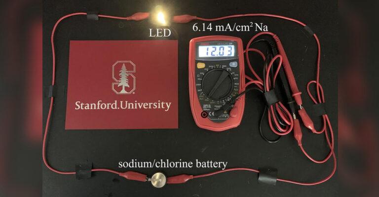 Хлорные батареи будут работать дольше