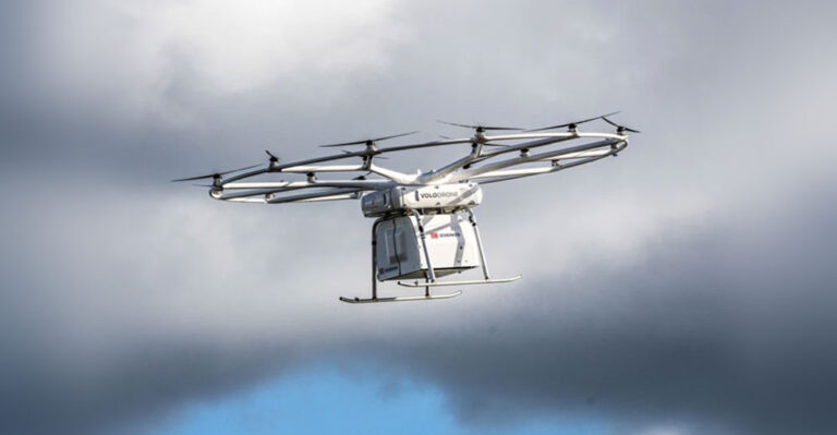 Тяжелый грузовой дрон от Volocopter