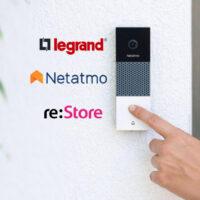 Группа Legrand начала продажи устройств для умного дома Netatmo в магазинах re:Store